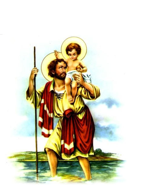 Blessing of  Saint Christopher